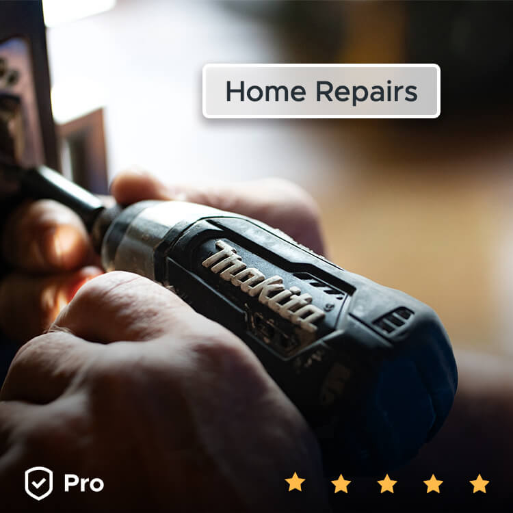 Get home repairs done with help from Aliud sellers.