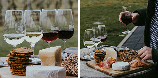 Buy a wine and cheese pairing on Aliud.
