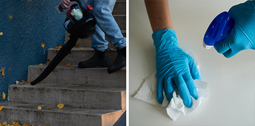 Buy and sell residential and commercial cleaning services