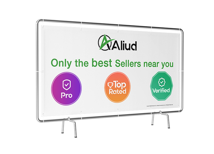 Aliud seller badges help build trust. Look for top rated, ID verified, and pro seller badges.