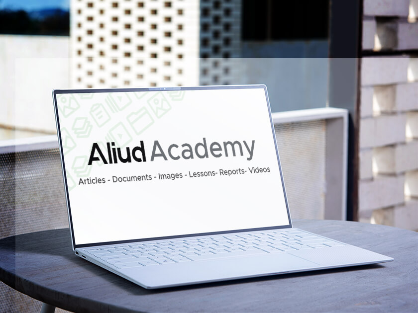 Learn new business skills in Aliud Academy and easily upgrade your talents for free.