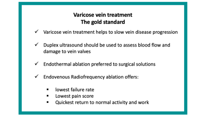 varicose vein treatment gold standard