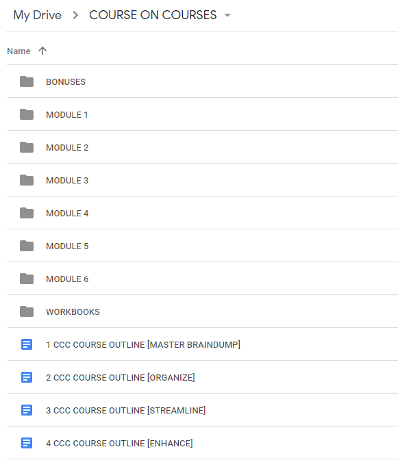 4 Steps to Outlining a 6-Figure Course