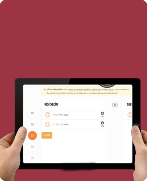 Pasaport Randevu Süreci Redesign Tasarım Projesi