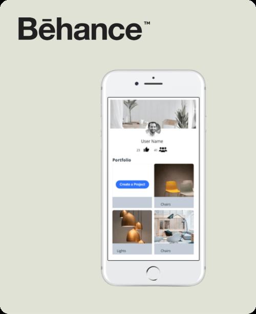 Behance Redesign Tasarım Projesi