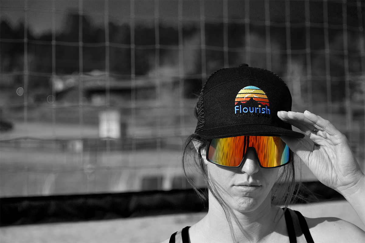 flourish beach volleyball clothing