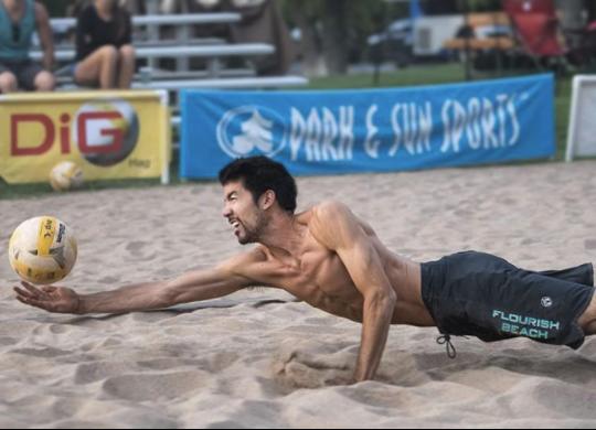 beach volleyball in colorado
