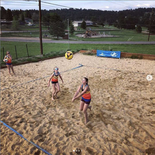 beach volleyball in colorado