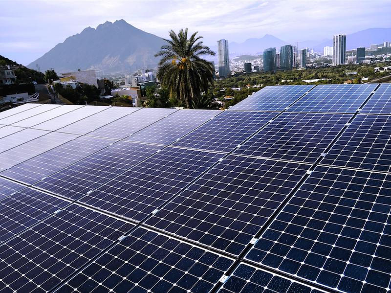 Paneles solares en tu hogar