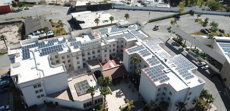 Paneles solares en tu negocio