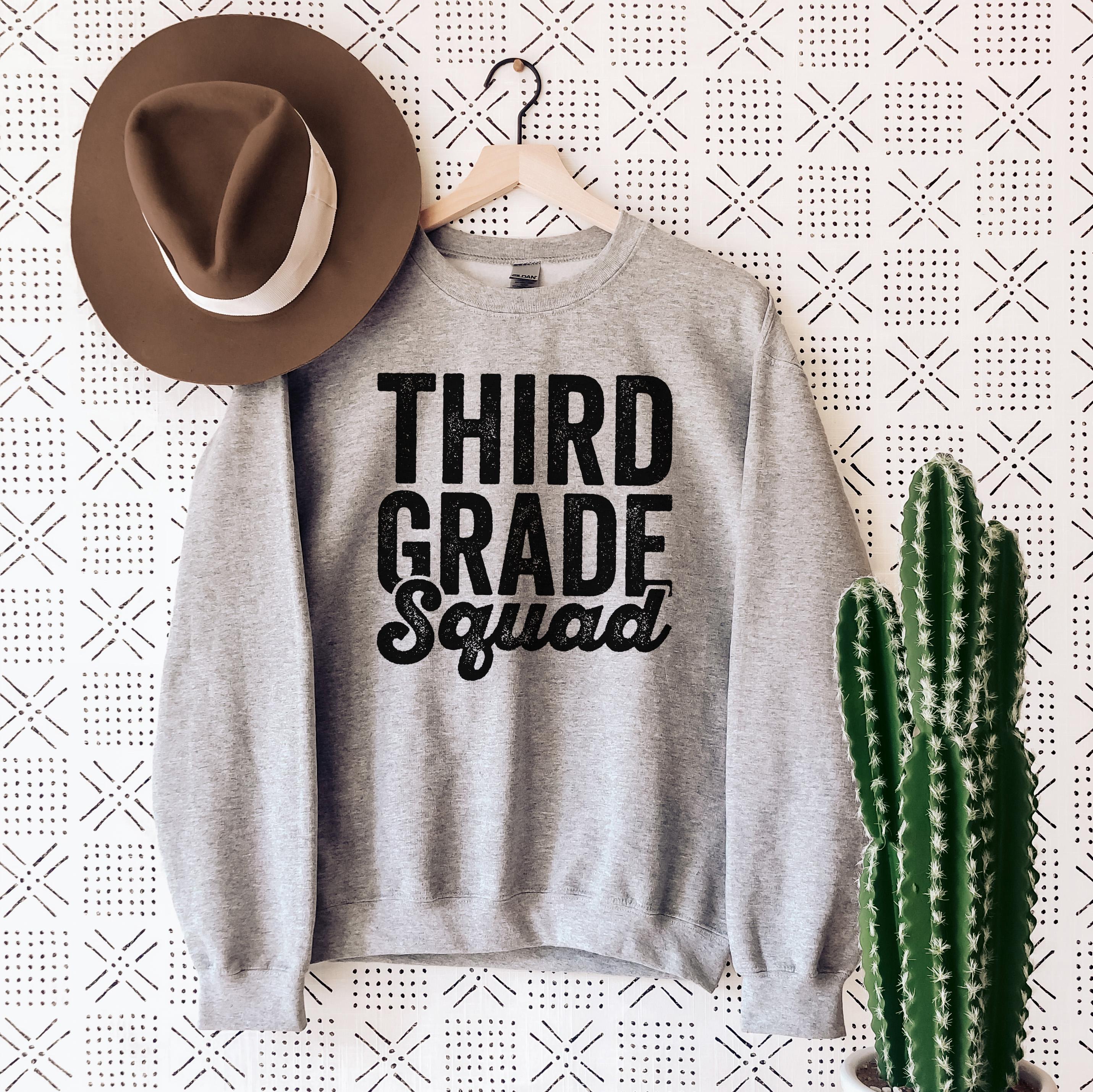 Third Grade Squad Sweatshirt
