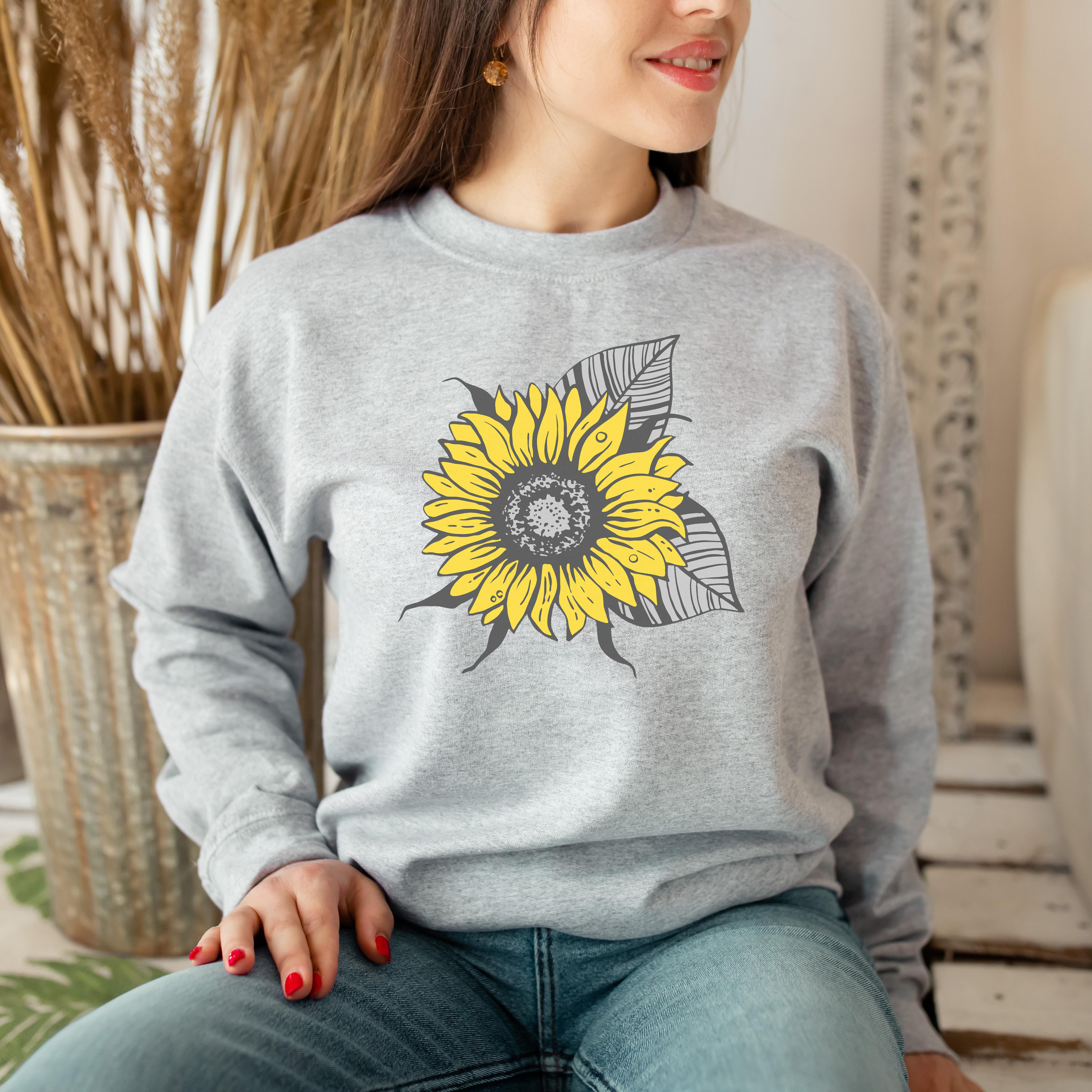 Rustic Sunflower Sweatshirt