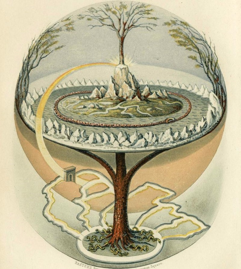 Symbol of Yggdrasil