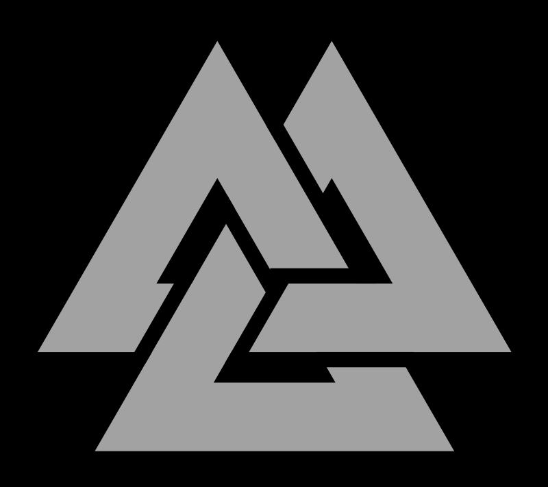 Valknut-Symbol-triquetra