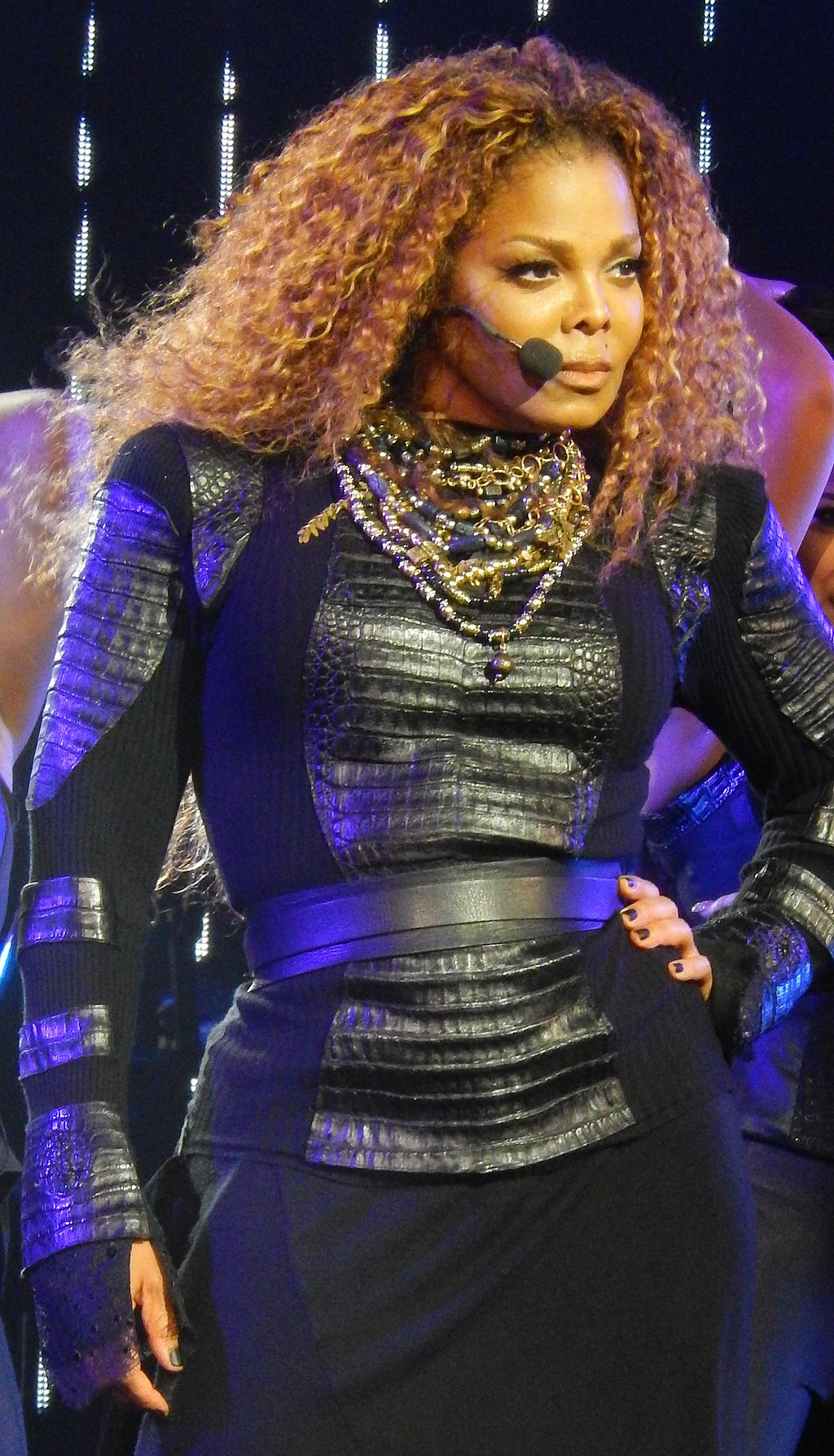 Janet Jackson on her Unbreakable World Tour, Bill Graham Civic Auditorium, San Francisco, California, October 14, 2015