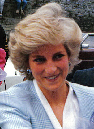 Princess Diana on a royal visit for the official opening of the community centre on Whitehall Road, Bristol in May 1987.