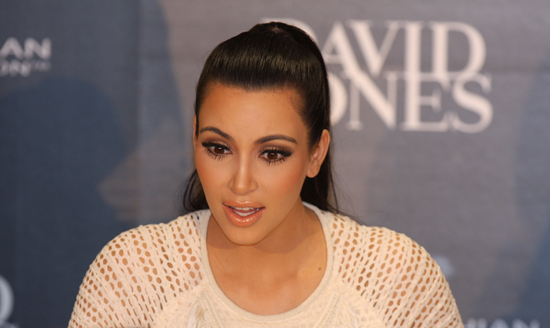 "Kim Kardashian And Khloe Get David Jones Tills Ringing, Chaos American reality television celebrity Kim Kardashian was once again the cause of a mass of humanity (and massive traffic jams in the Sydney CBD), described by many as complete ""chaos""."
