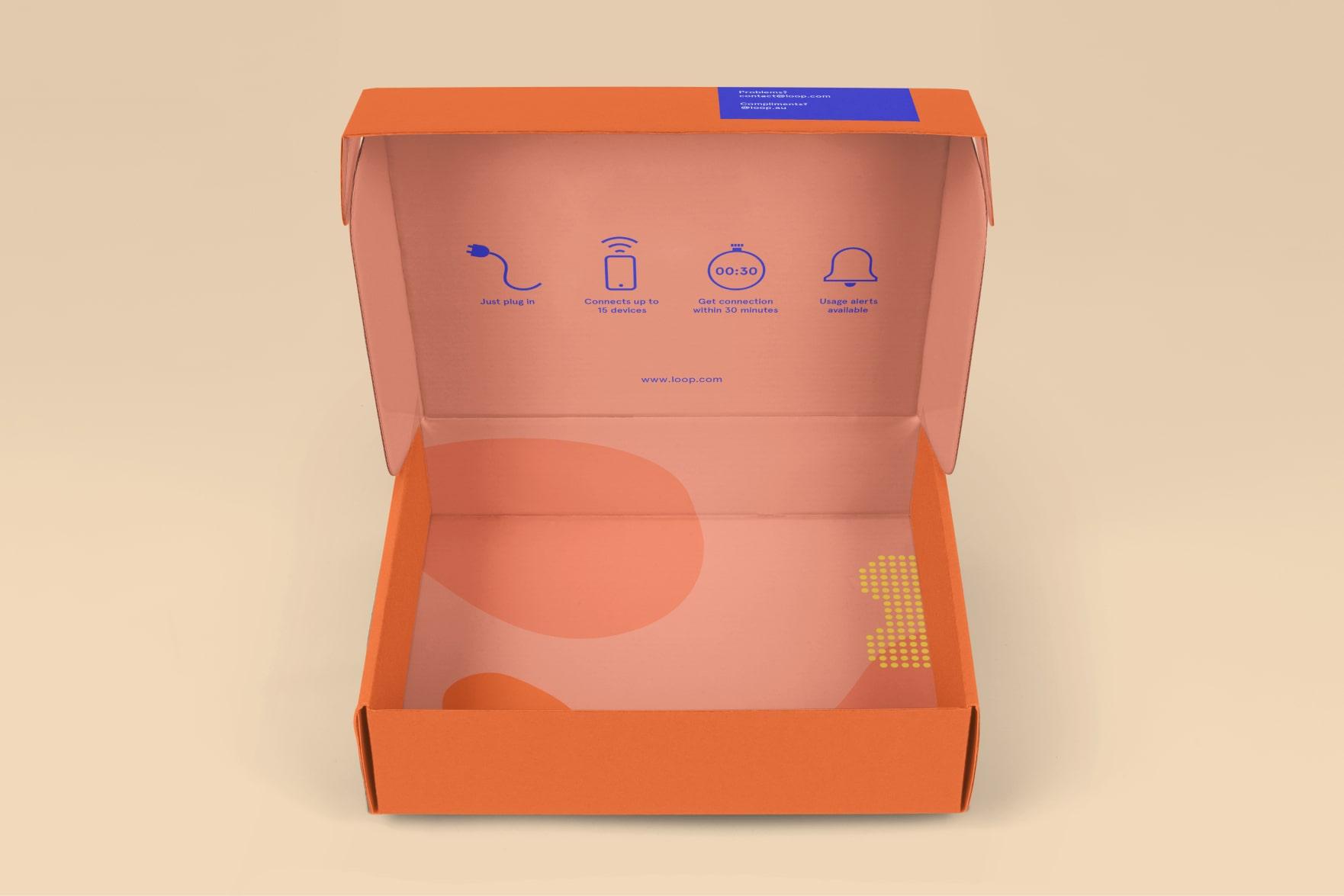 LOOP mailbox design (inside)
