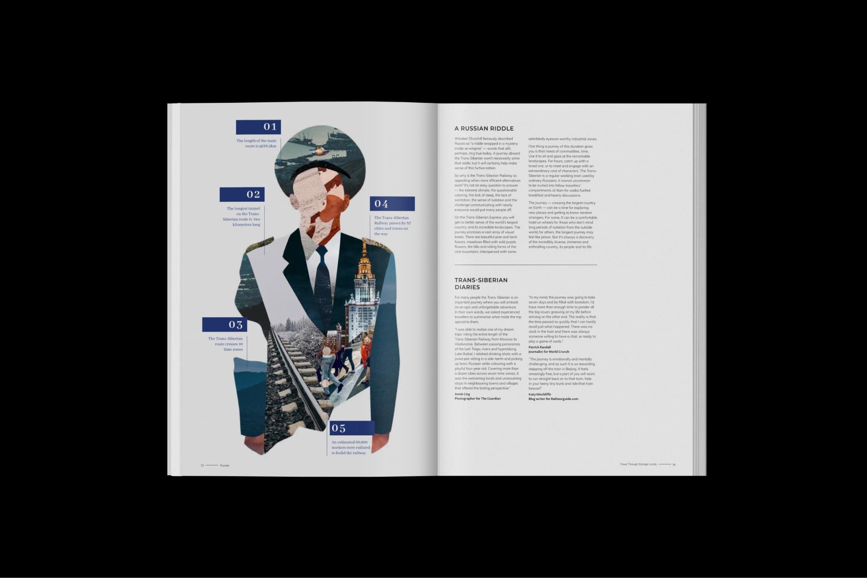 Ramble Magazine Layout