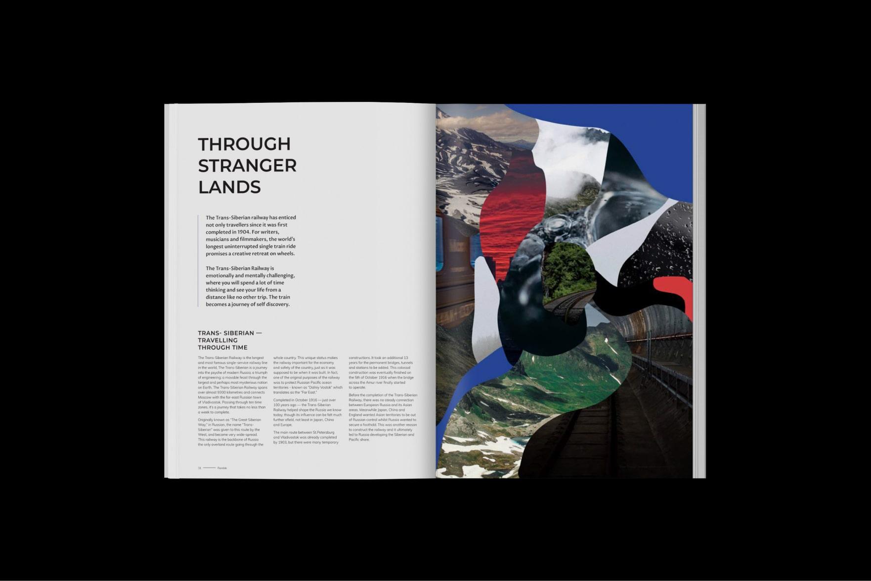 Ramble Magazine Layout Design
