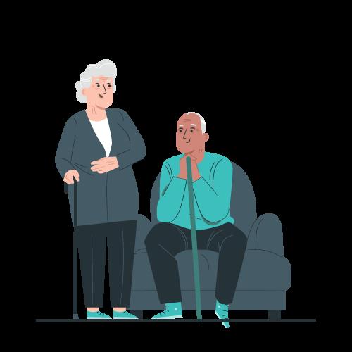 Life event - aging parents