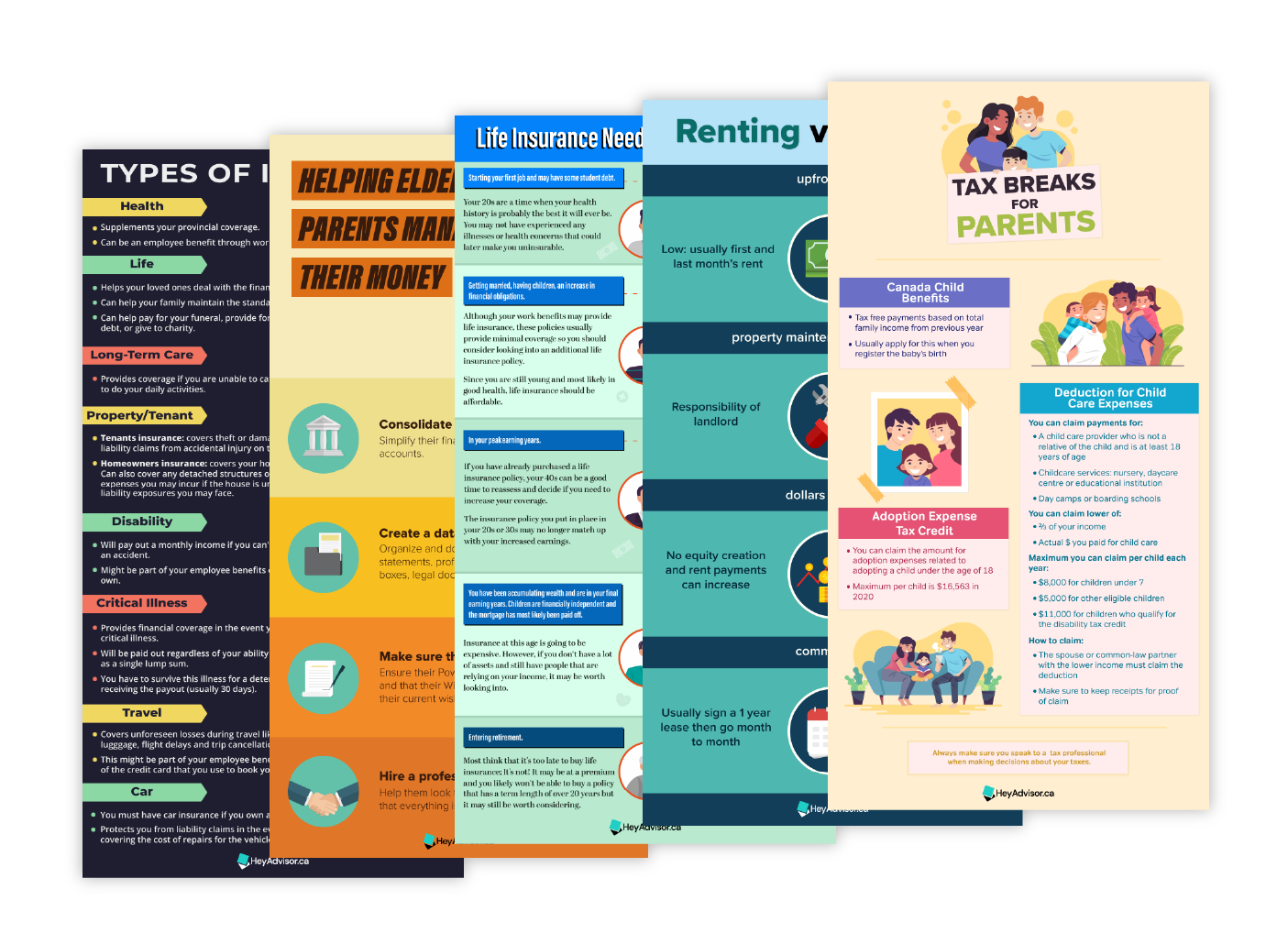 Infographics for clients demo