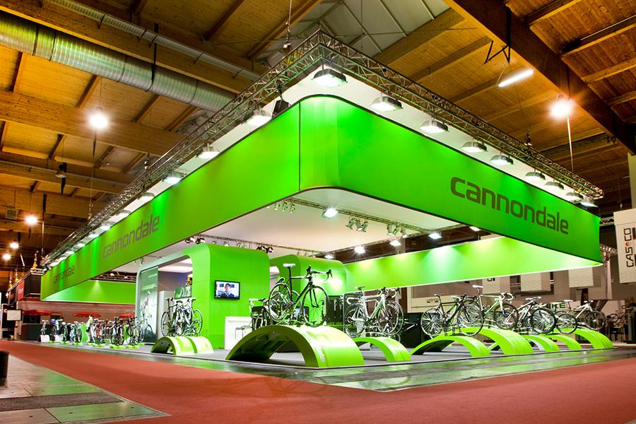 cannondale bikes eurobike csg Messestand trade fair booth Messe Ausstellung Shop Retail Kongress München design trade fair booth