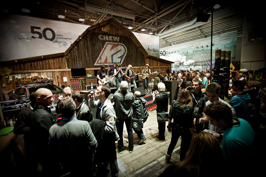 K2 Scheune 50 anniversary barn Messestand trade fair booth Messe Ausstellung Shop Retail Kongress München design trade fair booth