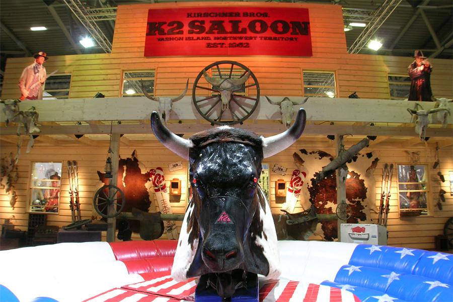 k2 snow saloon ispo Messestand trade fair booth Messe Ausstellung Shop Retail Kongress München design trade fair booth
