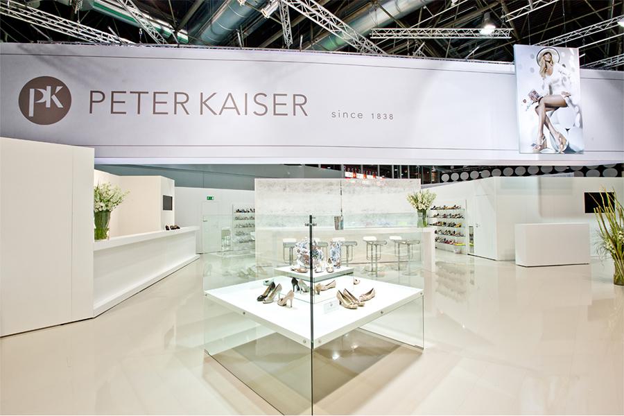 Peter Kaiser Schuhe Messestand trade fair booth Messe Ausstellung Shop Retail Kongress München design trade fair booth