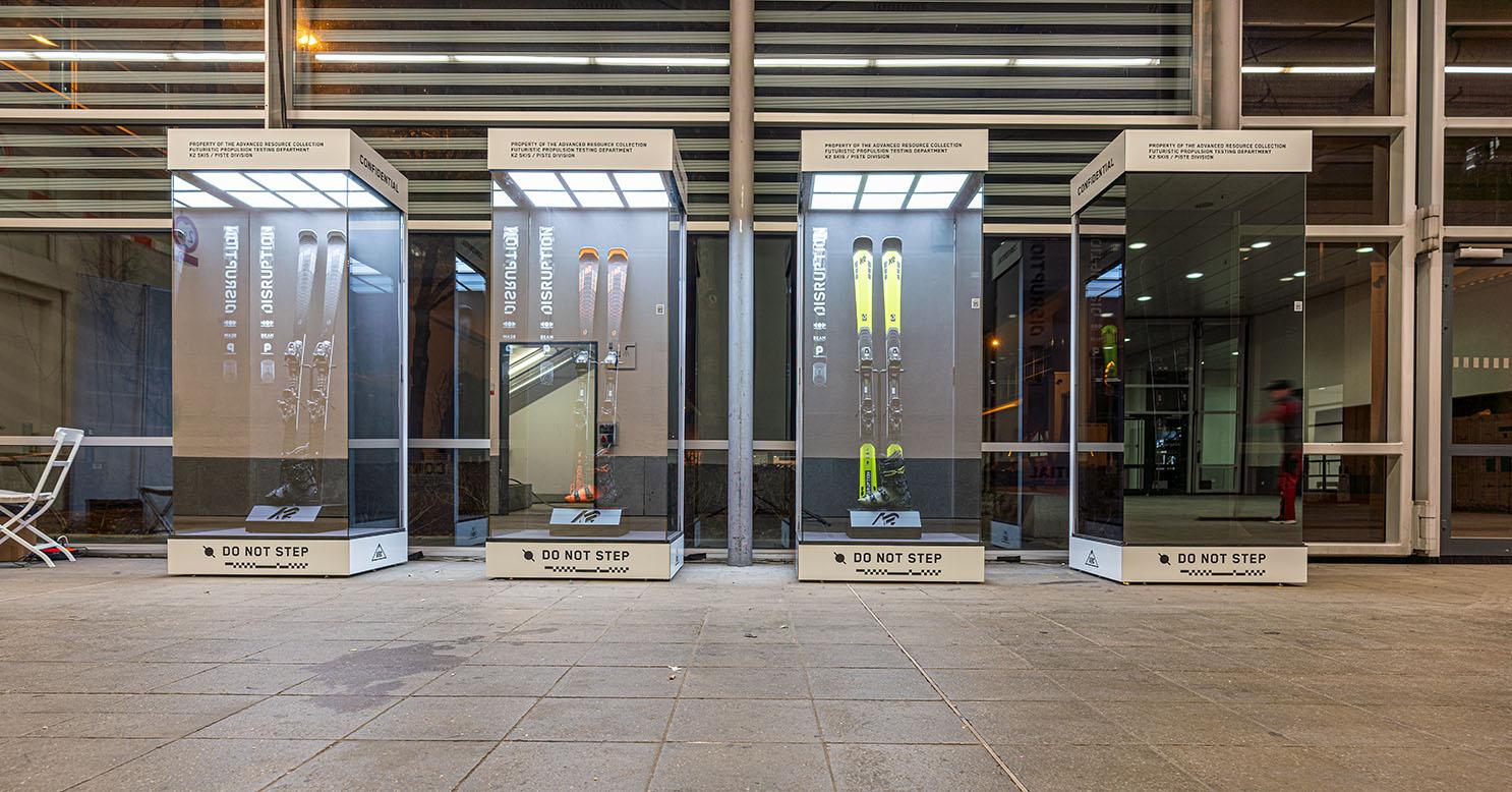 k2 ski vitirin display showcase
