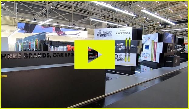 marker dalbello völkl sports ispo Messe Ausstellung Shop Retail Kongress München design trade fair booth