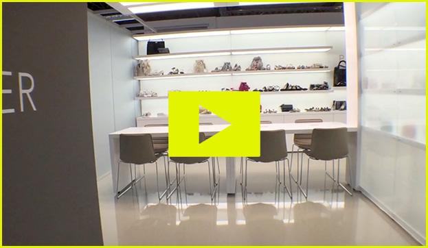 Peter Kaiser Schuhe mode video Messe Ausstellung Shop Retail Kongress München design trade fair booth