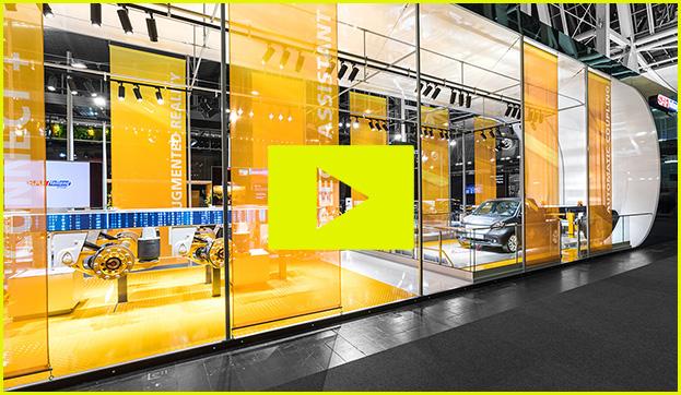 saf holland booth design video trade fair messe Hannover