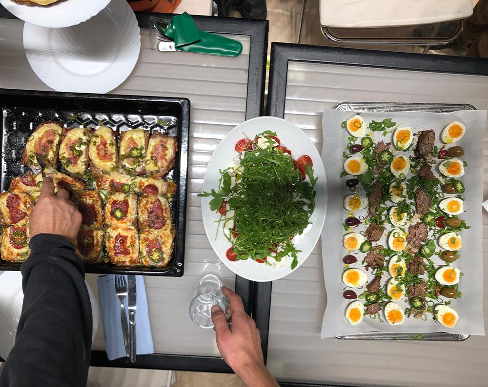Die besten Mahlzeiten der ISPO 2020 Aufbauzeit
