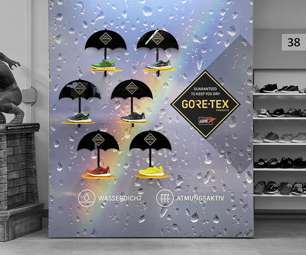 Merchandise Kids Schuhwand für Gore Tex