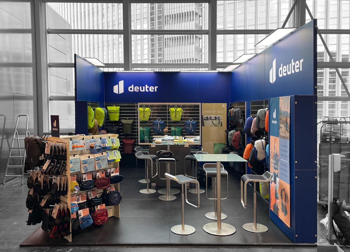 Deuter auf der Eurobico 2021 in Frankfurt