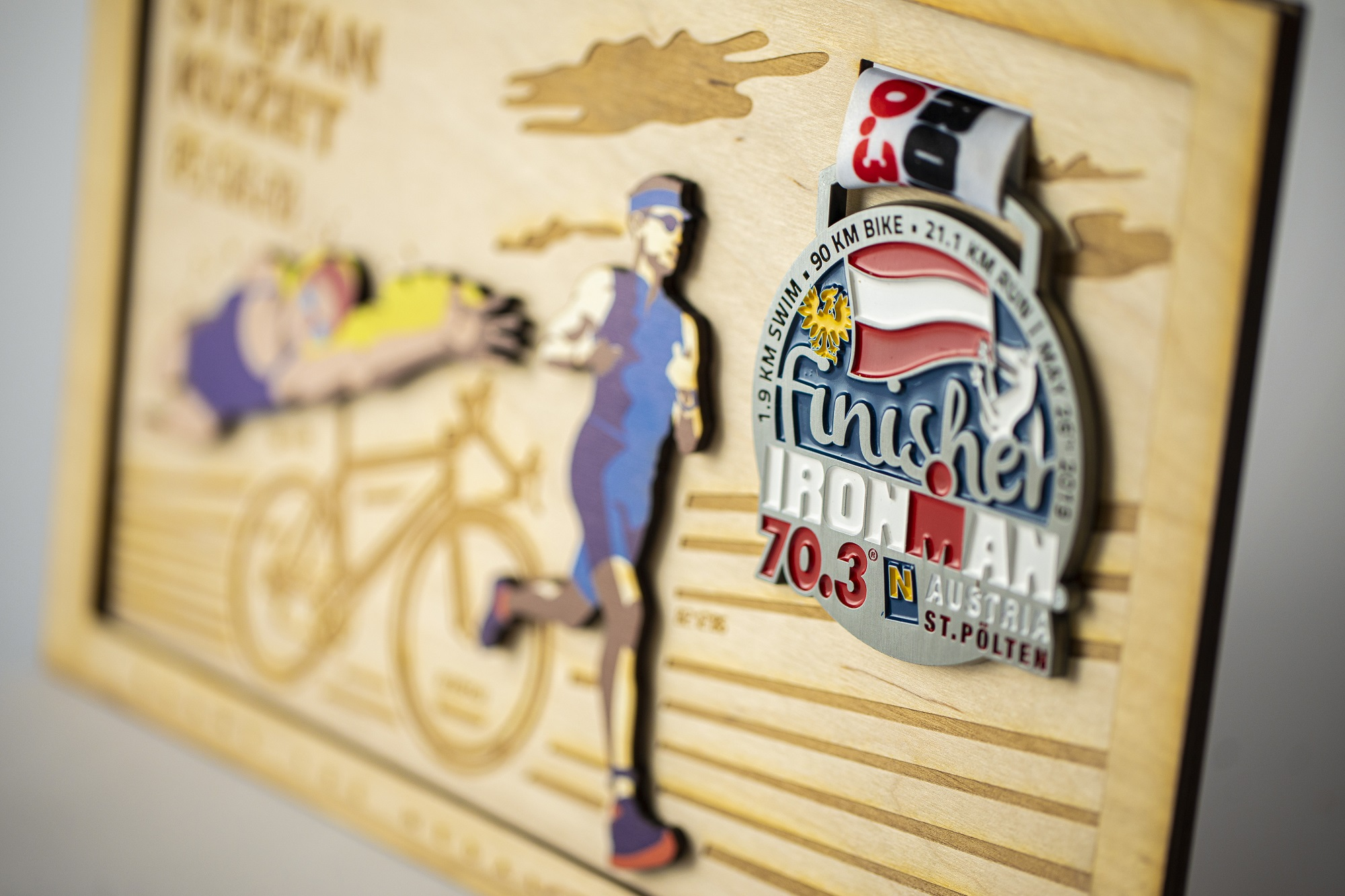 Triatlon, ram za triatlon, medalja, ram za medalju triatlon, frame of fame