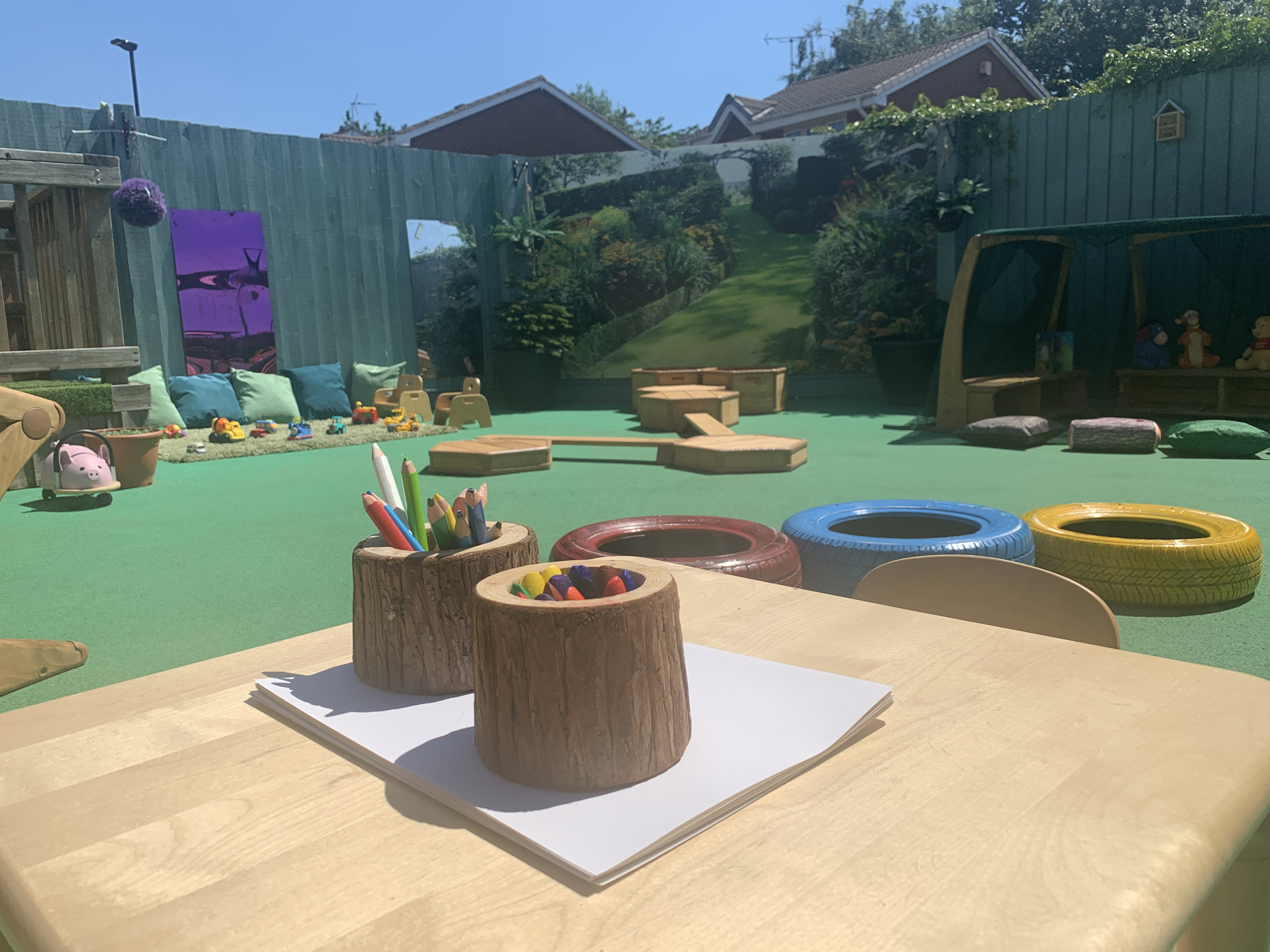 Mickleover Outdoors Play Area