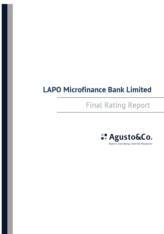 "Agusto&Co affirms LAPO Microfinance Bank's ""A-"""