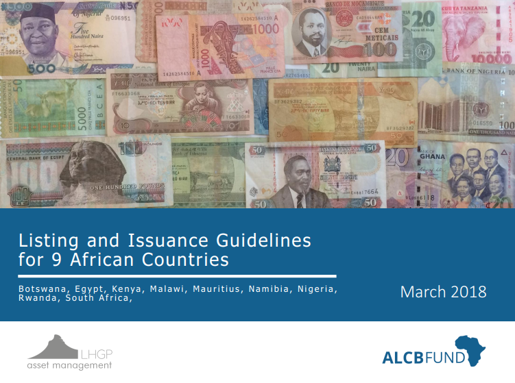 Listing and Issuance Guidelines for Nine African Countries