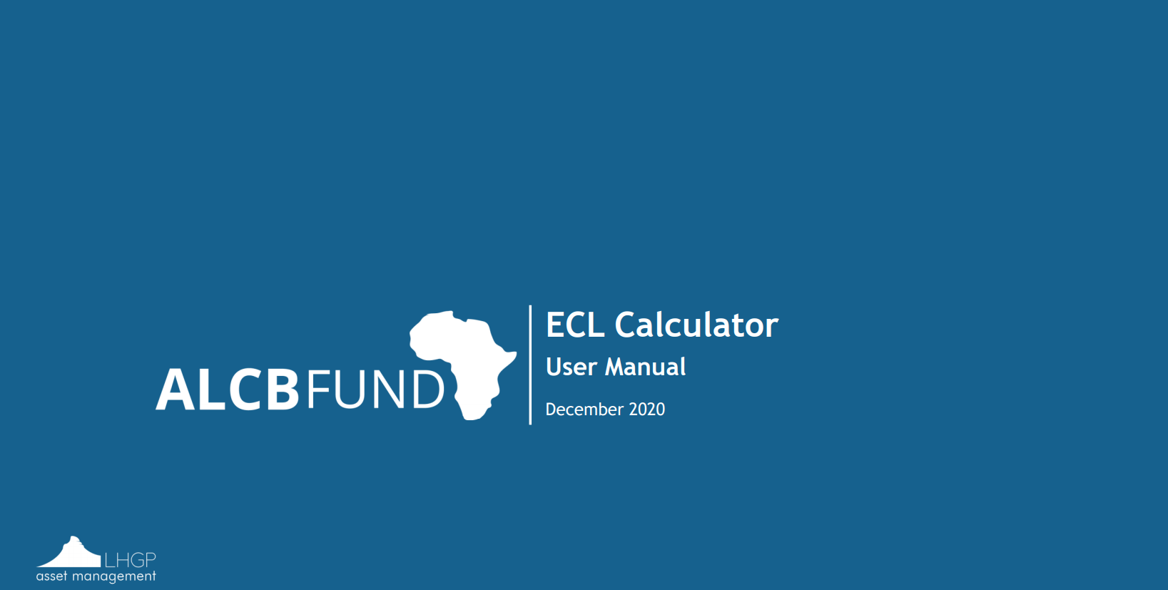 ECL Calculator - User Manual