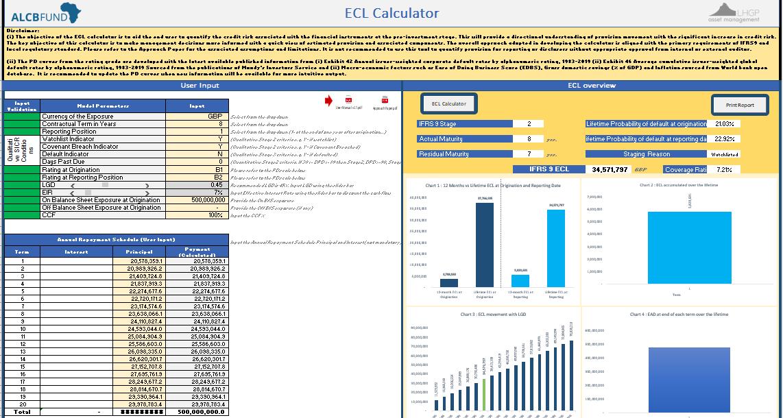 ECL Calculator