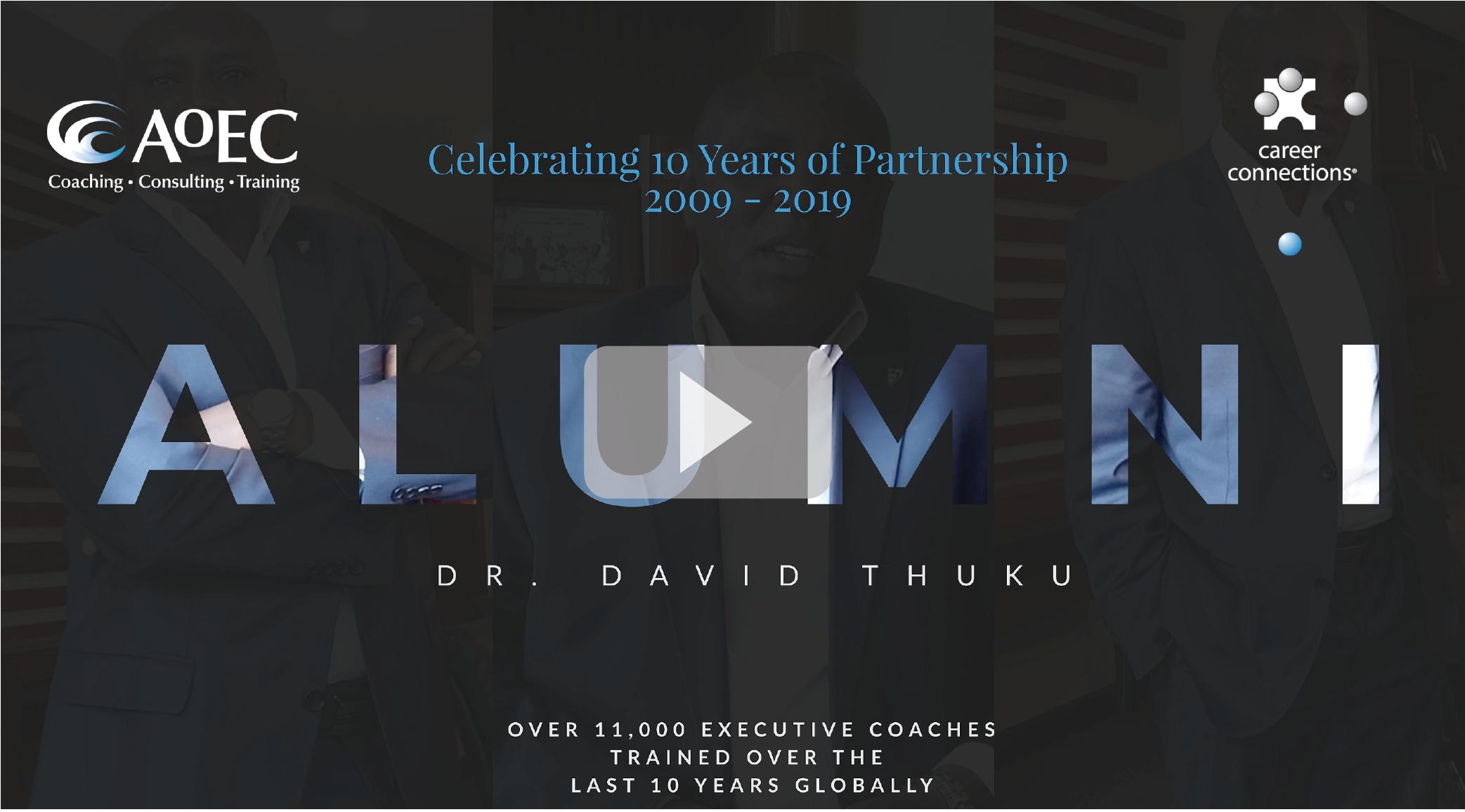 Alumni Speak with David Thuku