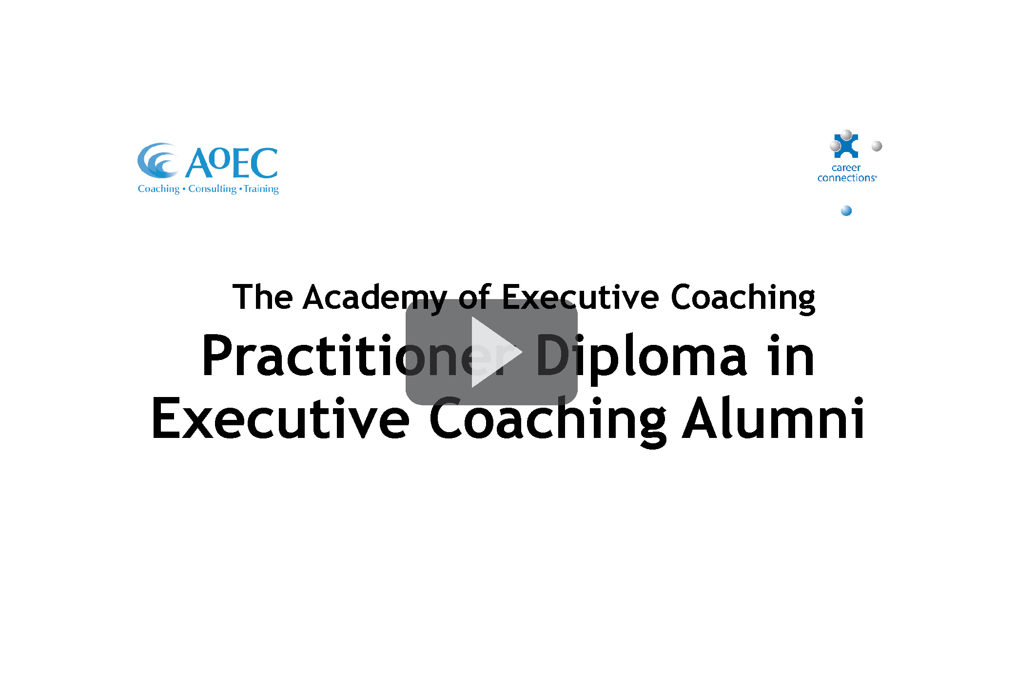 The Practitioner Diploma in Executive Coaching Alumni