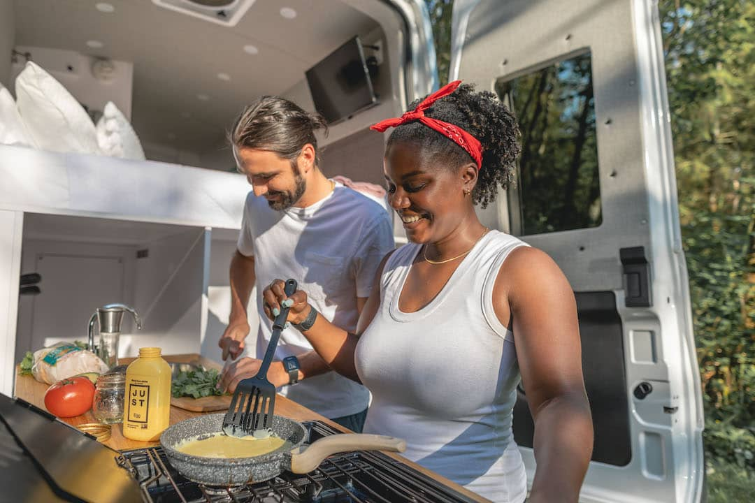 JUST Egg x Cabana Recipes for the Road