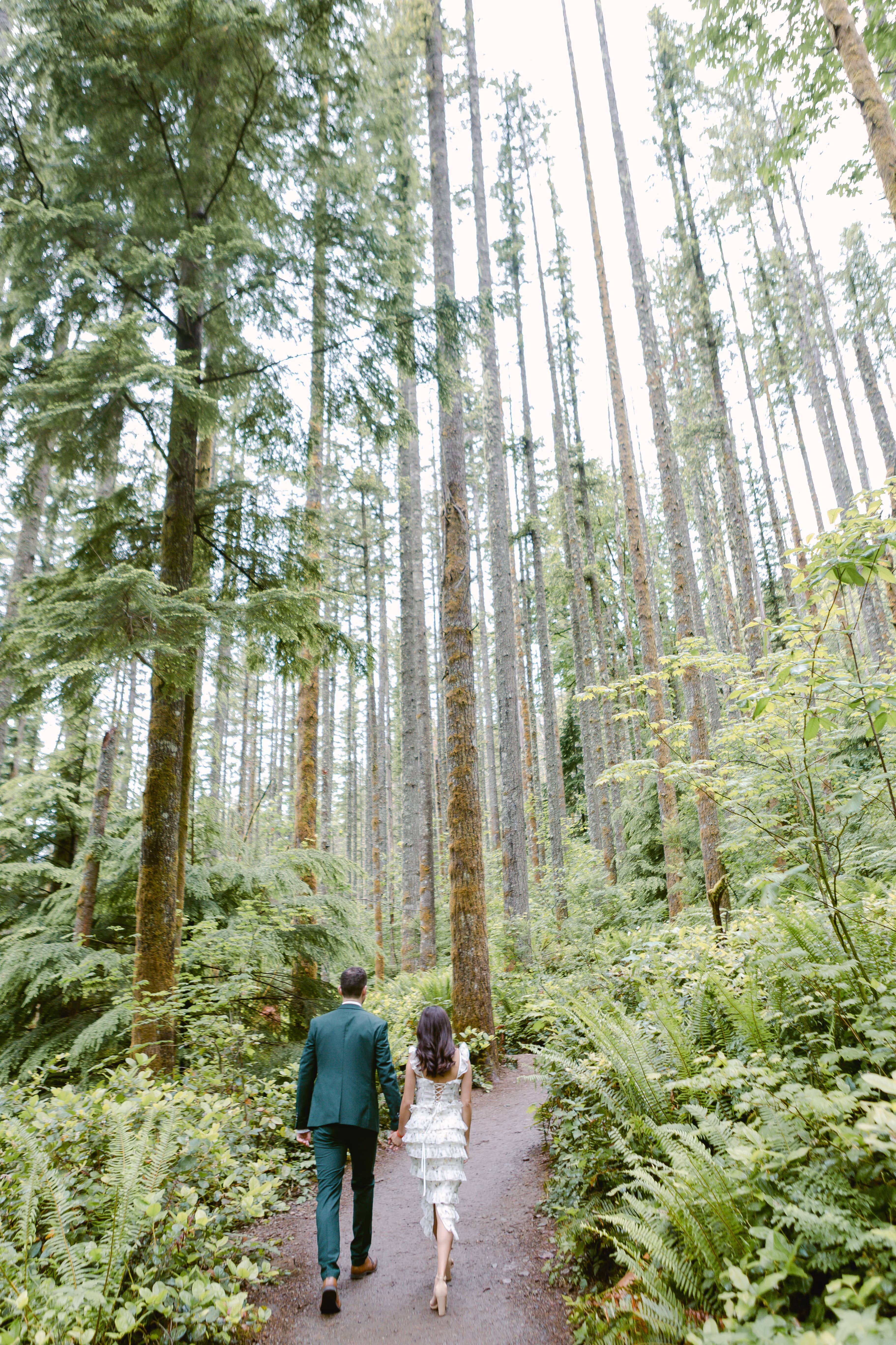 forest elopement PNW
