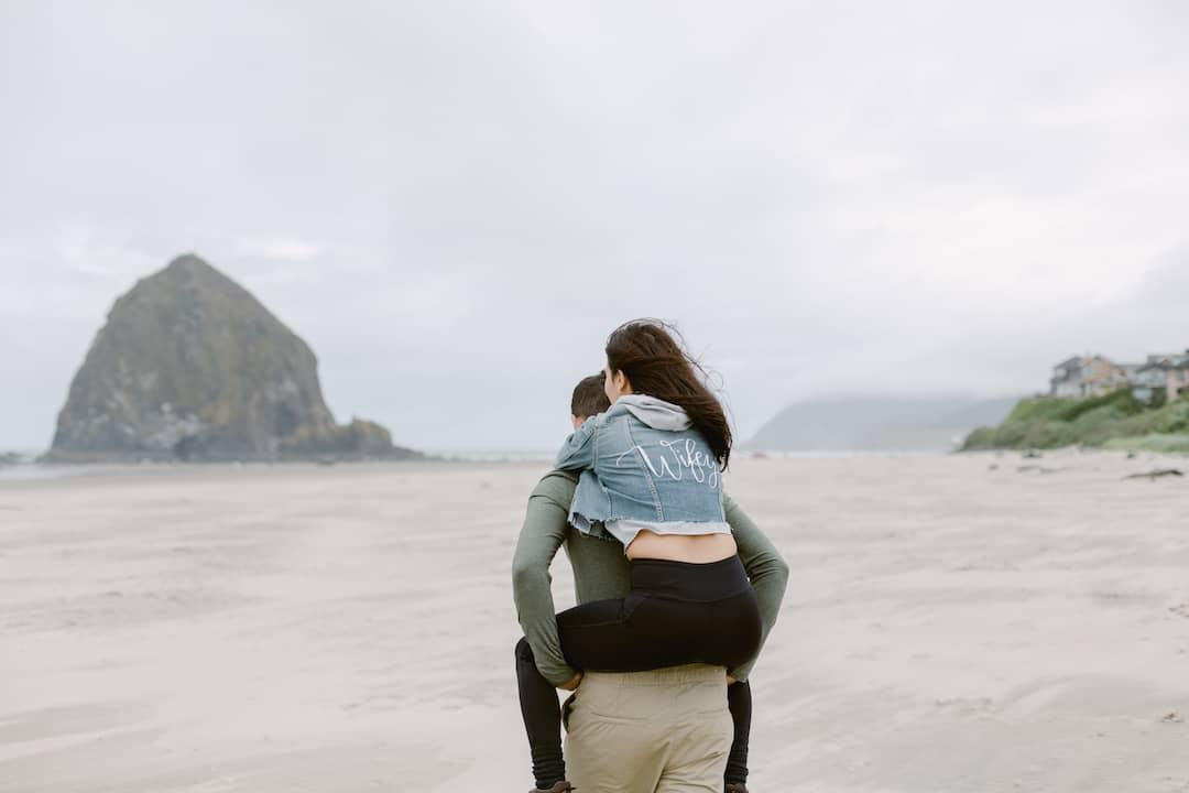 Oregon coast honeymoon