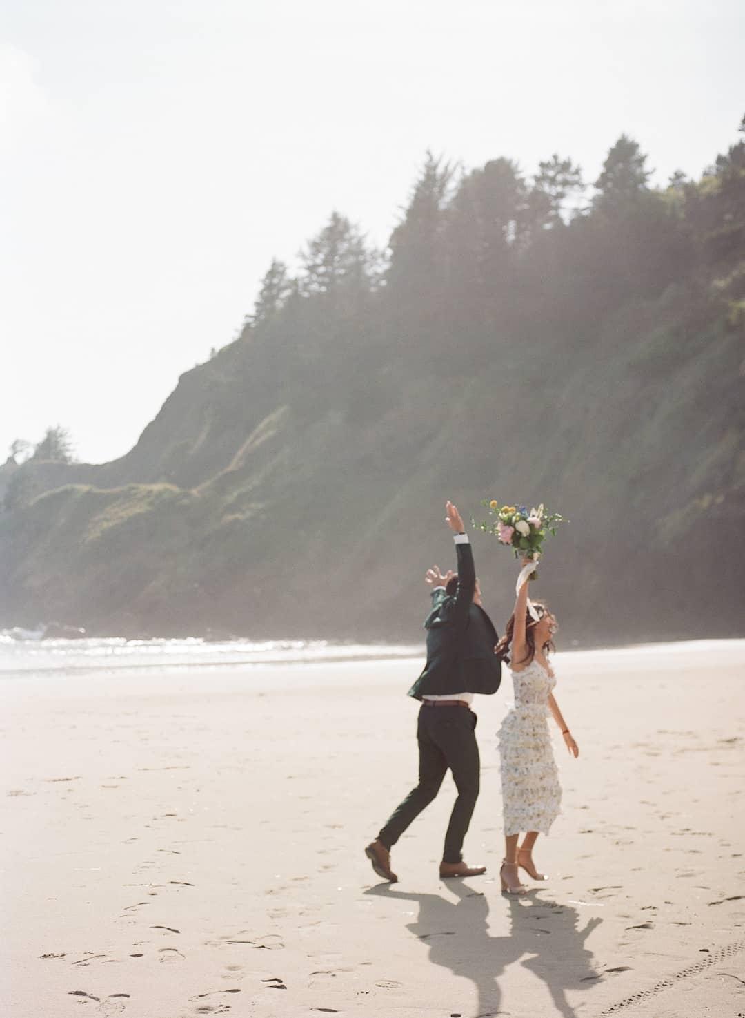 Unique elopement photos