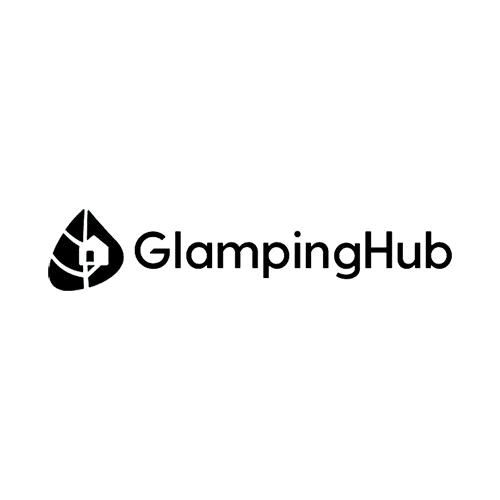 GlampingHub camping and travel Logo